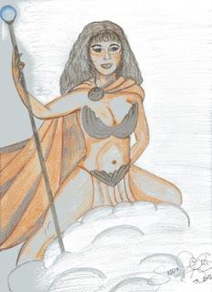 She-Rah!, winner of Seeking Super Sheros contest