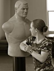 Self-defense student Strategic Living