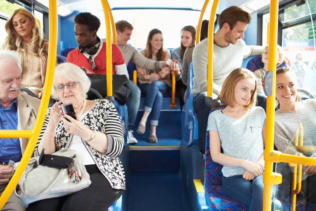 """Dispel those nagging fears of being """"paranoid"""" by making your commute into a practicum for reading body language!"""