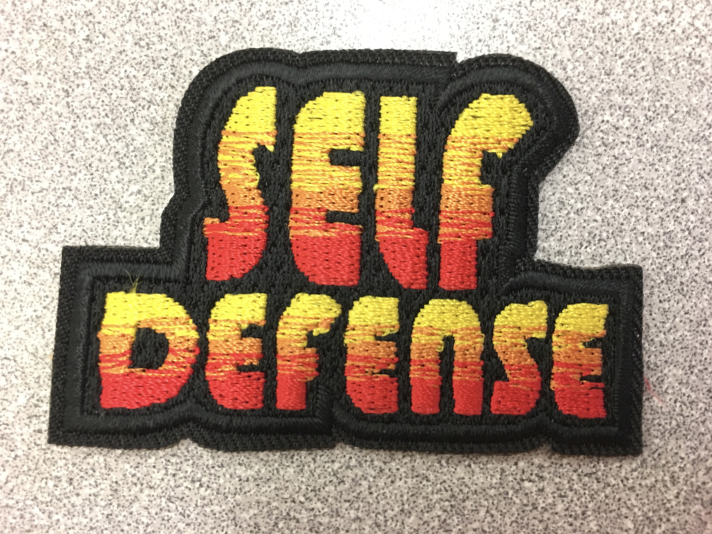 self-defense patch Girl Scouts