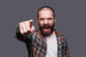 Angry yelling dude